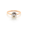 Oval Signature Solitaire | Moissanite