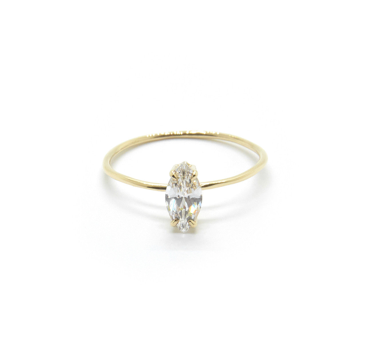 Marquise Ring with Cubic Zirconia