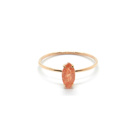 Marquise Ring with Sunstone