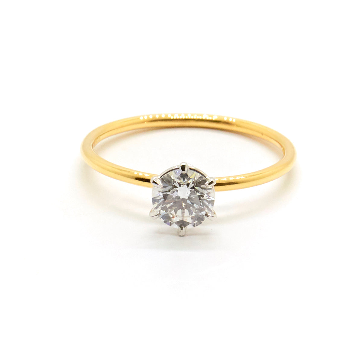 Signature Solitaire | 0.62 carat Diamond