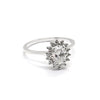 Oval Daisy Halo | Diamonds