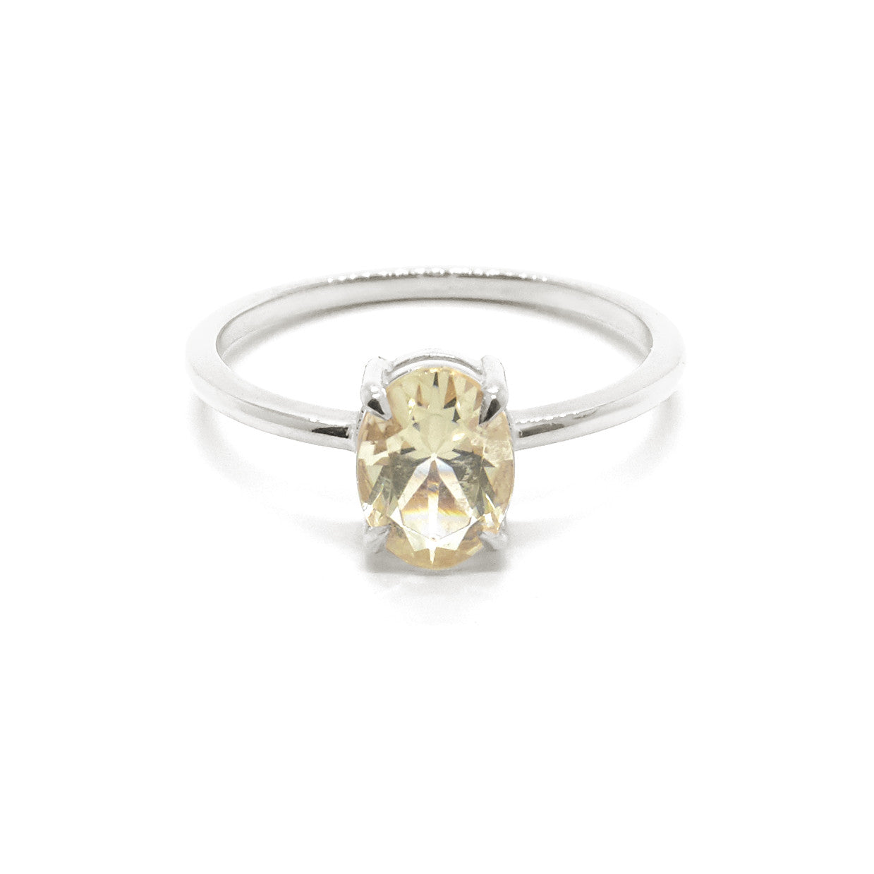 sunstone ring sun a engagement stone img nestled wwake diamond products champagne one of kind rings and