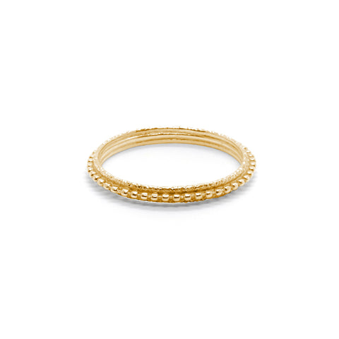 Layered Textured Ring