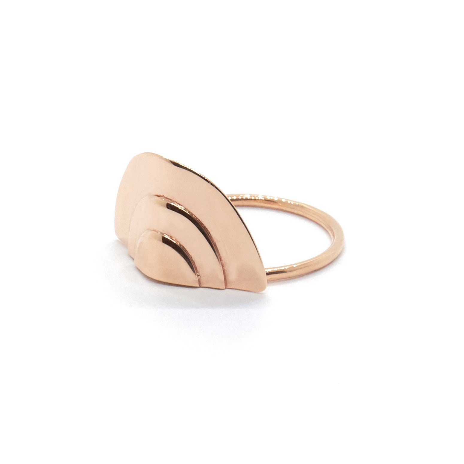 Stacked Oval Ring