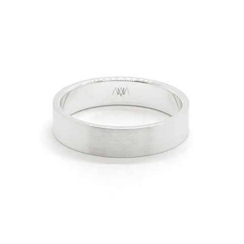 4mm Classic Square Ring