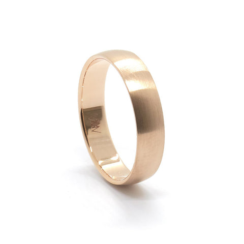 4mm Classic Half Round Ring