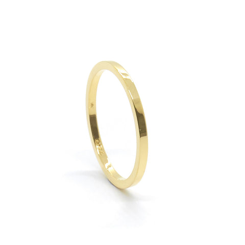 Fine Square Wedding Ring