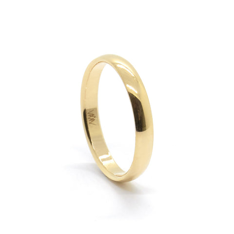 2.5mm Classic Half Round Ring