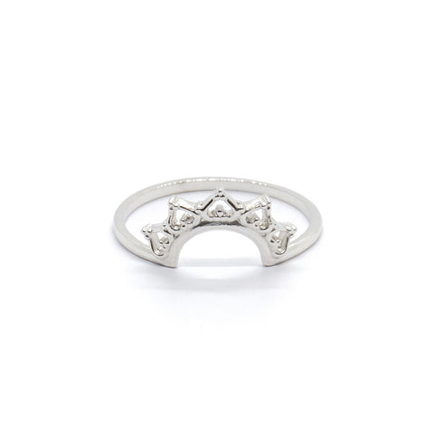 Lace Crown Ring