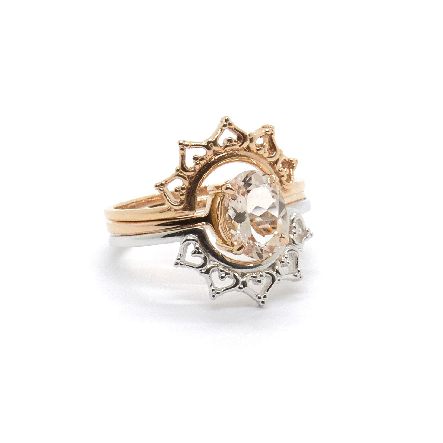 Lace Crown Ring – Natalie Marie Jewellery