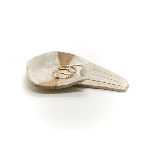 Open Palm Half Moon Jewellery Dish
