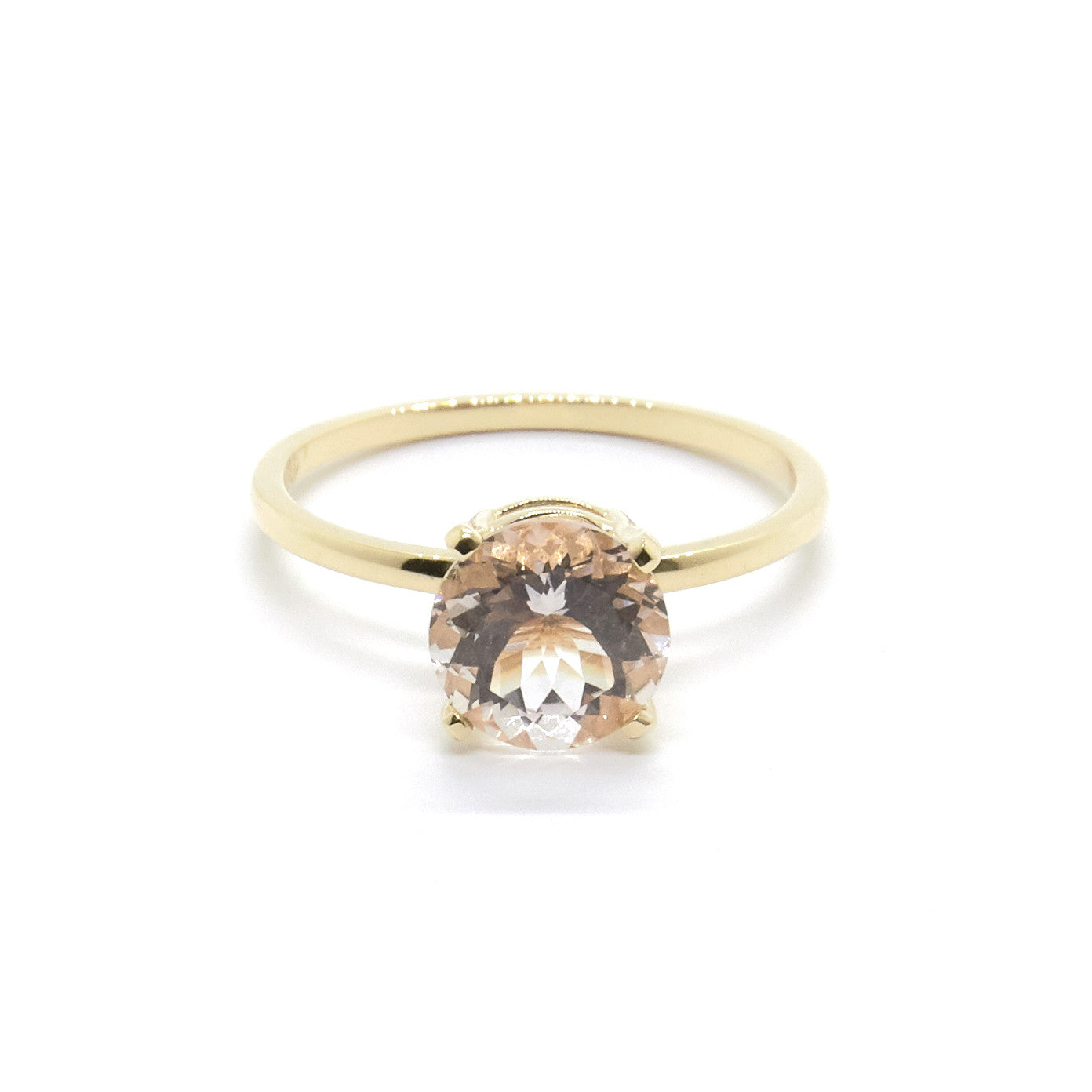 Precious Morganite ring