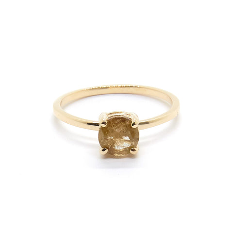 Petite Precious Rutilated Quartz ring