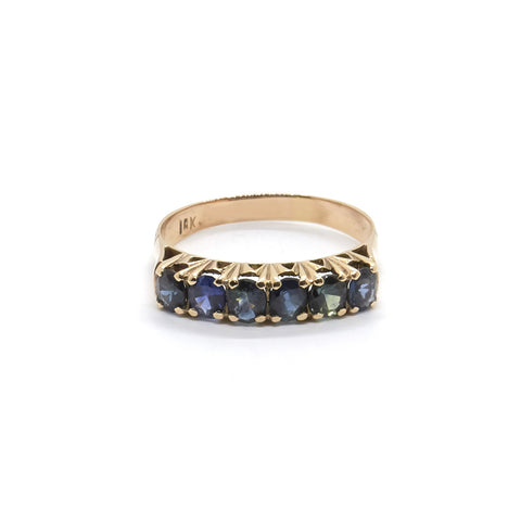 Vintage Sapphire Eternity Ring