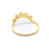 Gentle Diamond Lace Crown Ring