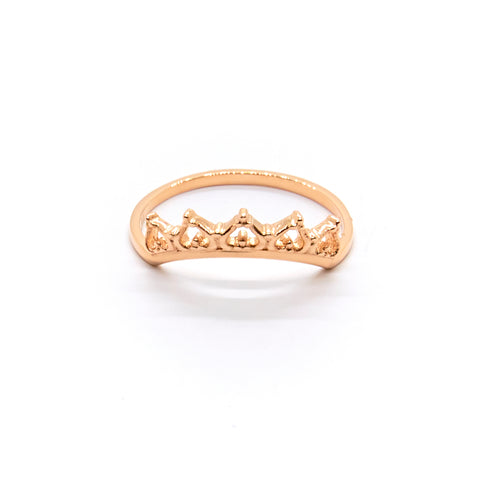 Gentle Lace Crown Ring