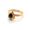 Petite Diamond Point Ring