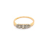Rosalie | Vintage Edwardian Diamond Wrap Ring