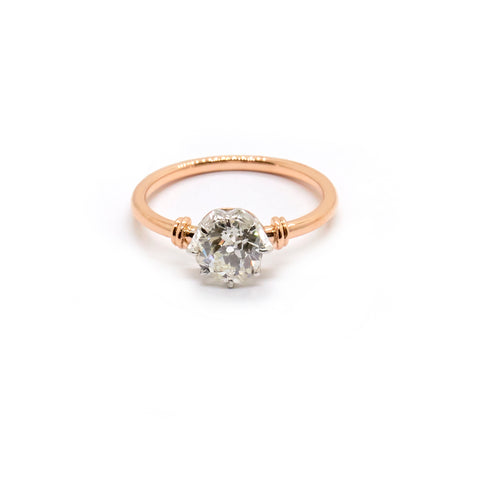 Primrose | Vintage Old European Cut Diamond Solitaire