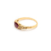 Elsie | Vintage Art Deco Ruby & Diamond Ring