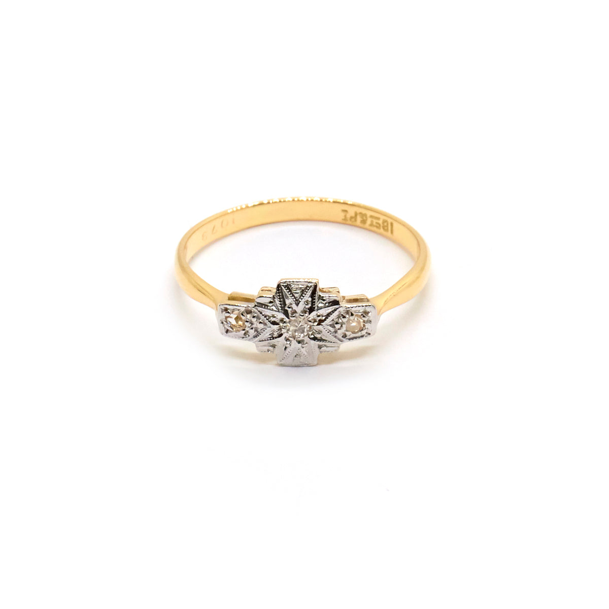 Harriet | Vintage Edwardian Diamond Star Ring