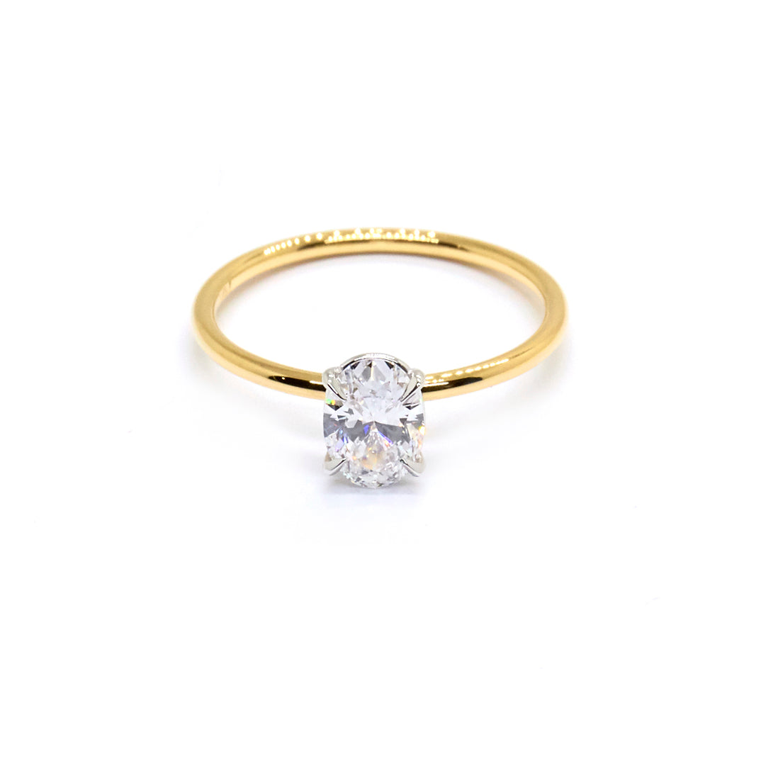 Oval Signature Solitaire | 0.60ct Diamond