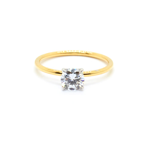 Tulip Solitaire | 0.52 carat Lab Grown Diamond