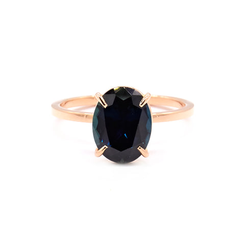 2.54ct Blue Sapphire Solitaire