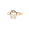 Sienna Ring | Moonstone & White Diamonds
