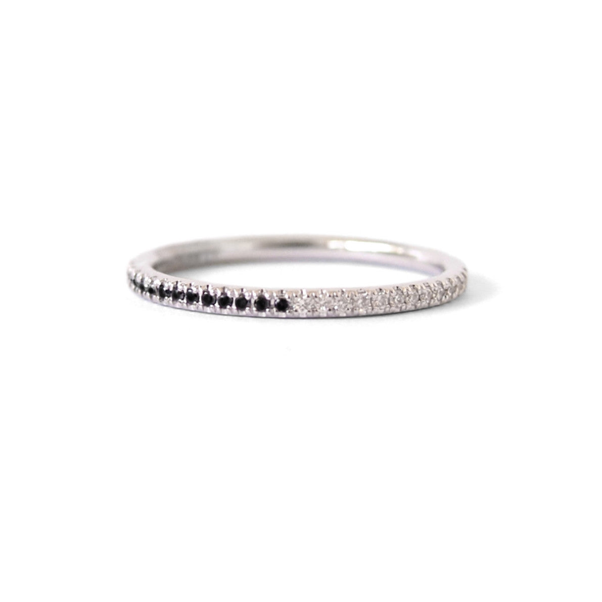 Queenie | Two Tone | Black & White Diamonds