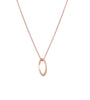 Dotted Oval Necklace