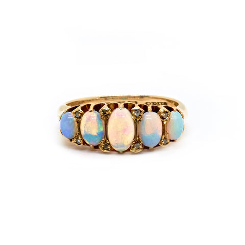 Guinevere | Vintage Opal Wrap Ring