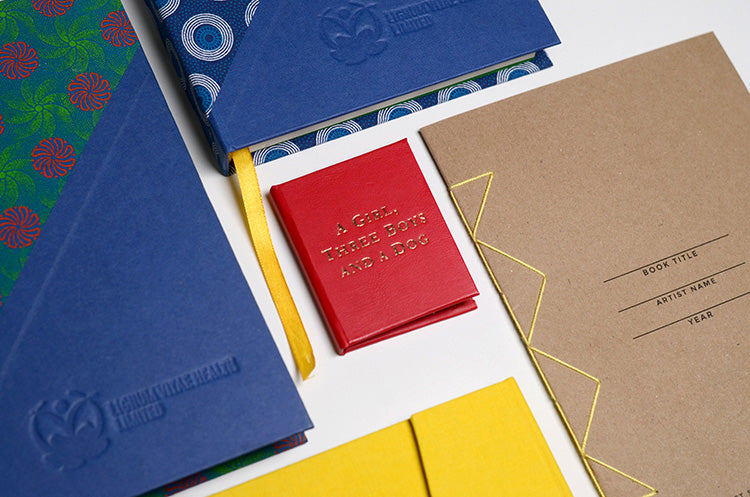 Pulp is a producer of custom bookbinding projects, presentation boxes and printed editions