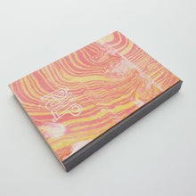 Load image into Gallery viewer, Hand marbled cover (A6)