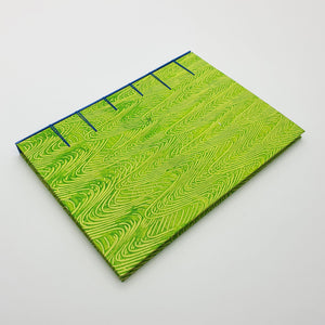 Secret Belgian Bound Notebook (A5 - Green)