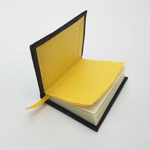 Leather pocket book (A7)