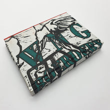 Load image into Gallery viewer, Recycled books – Lino Block Print (A6)