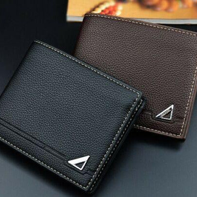 Cool Boy's Men's Wallets Slim Bifold Leather Credit Card ID Holder Wallet Purse - BrandsByG