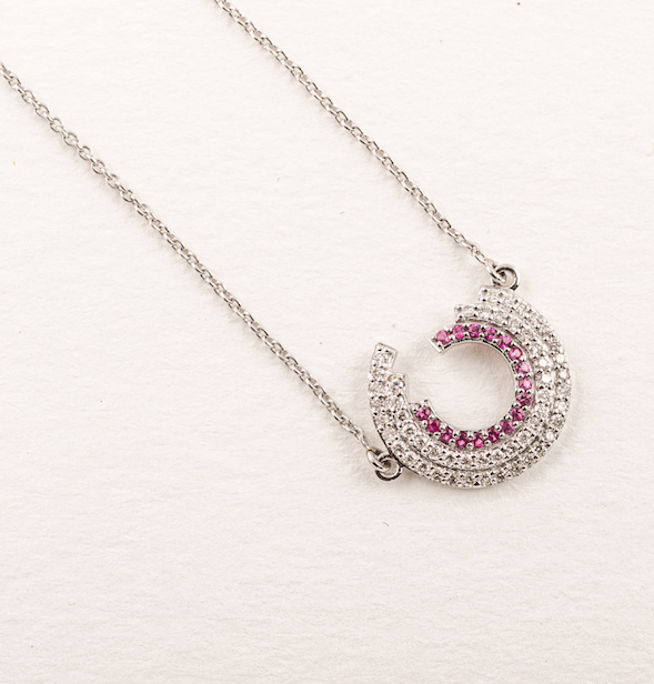 Ruby Fade Necklace