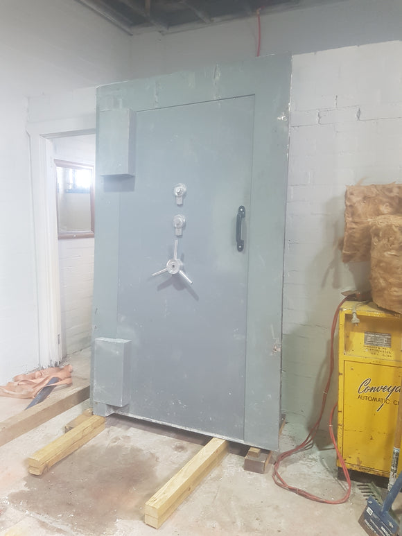 Refurbished Chubb Vault Door