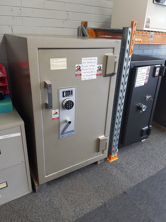 Refurbished CMI Commander CR6 Bank Safe