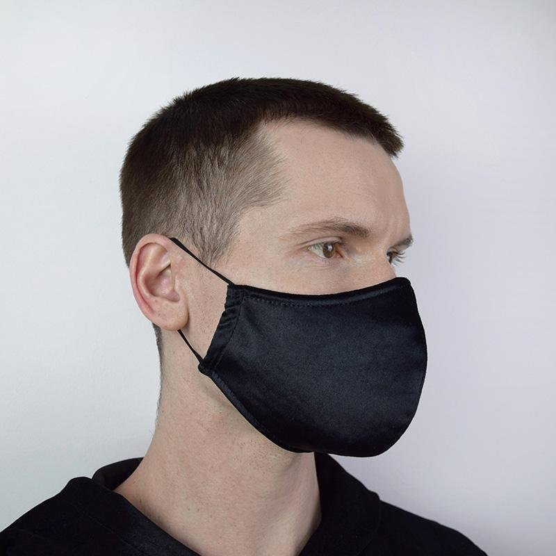 Black Velour Mask S.T.A.R.S
