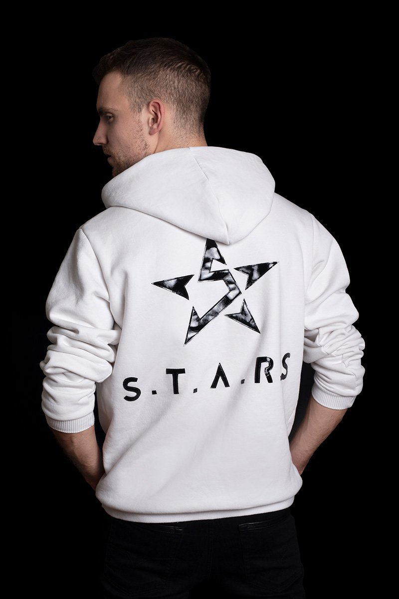 White Hoodie S.T.A.R.S
