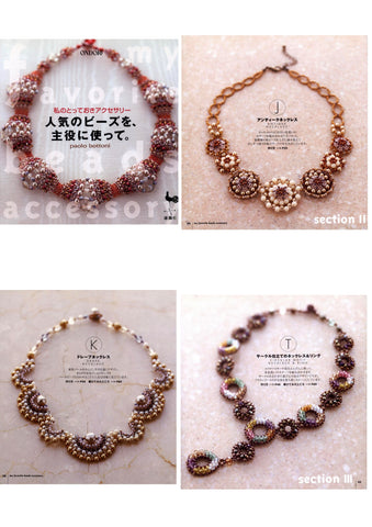 Beaded necklaces and other cute jewelry patterns