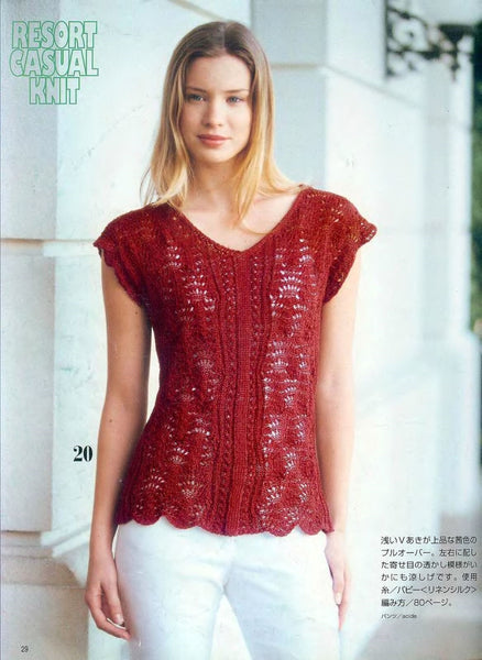 Summer crochet and knitting designs