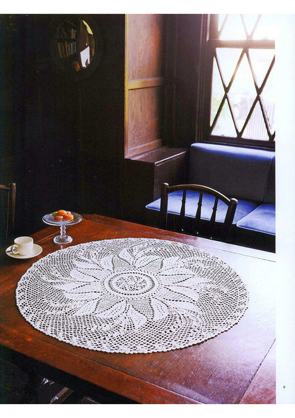 Quick and easy crochet doily patterns