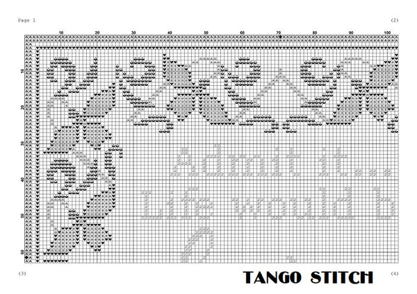 Admit it... funny romantic cross stitch pattern - Tango Stitch