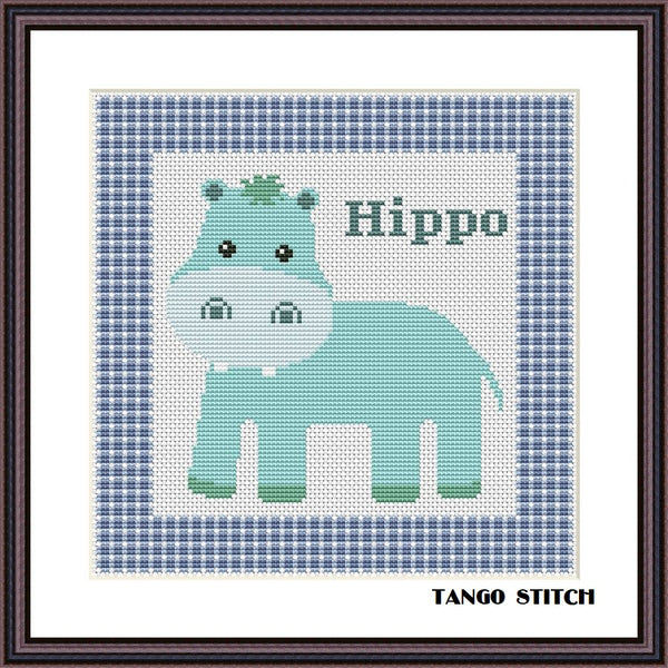 Cute animals cross stitch Set of 6 patterns - Tango Stitch