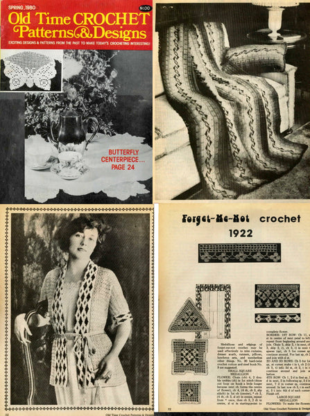 Old time vintage crochet patterns
