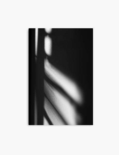 LIGHT AND SHADOW. Black and white photography. Abstract, minimalist printable wall art. LIGHT AND SHADOW canvas print. - PAPER MOON Art & Design